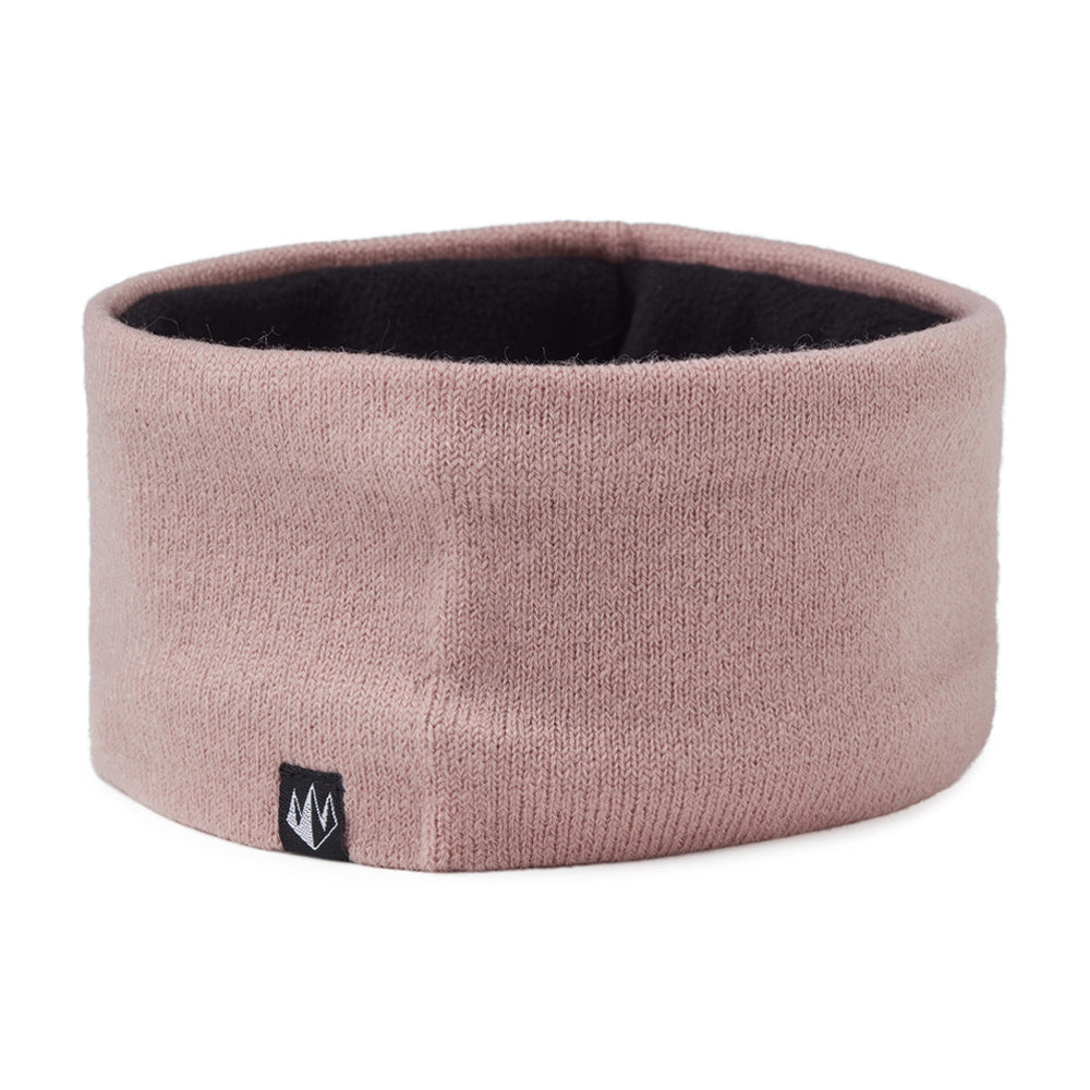 State Of Wow Connor Headband w/fleece inside Hovedbånd med fleece indeni Dusty Pink Lyserød