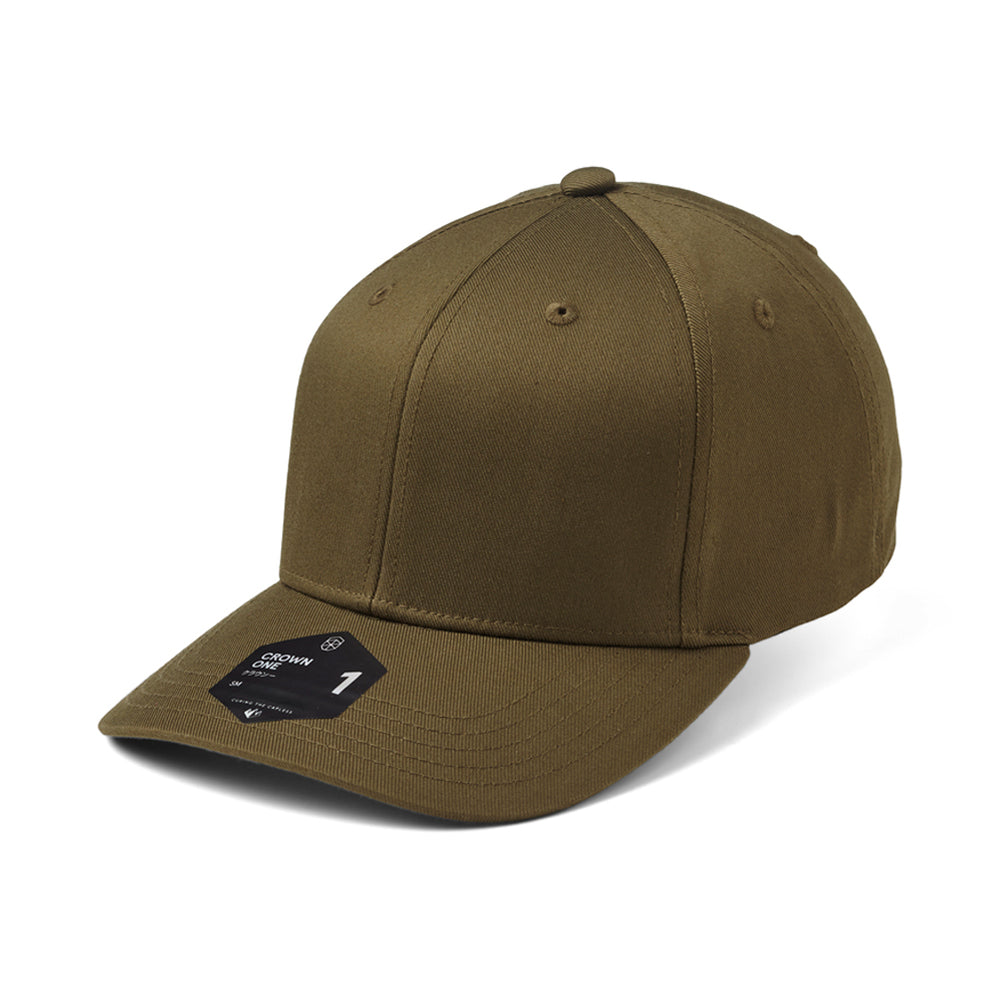 State Of Wow Crown One Flexfit Olive Grøn