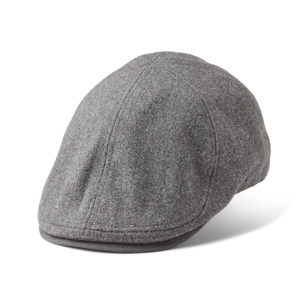 State Of Wow Lucan Duckbill Flat Cap Grey Grå