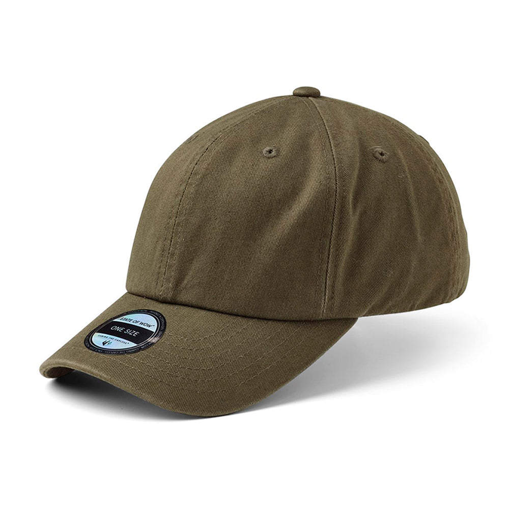 State Of Wow Cap Vincent Baseball Justerbar Grøn Olive