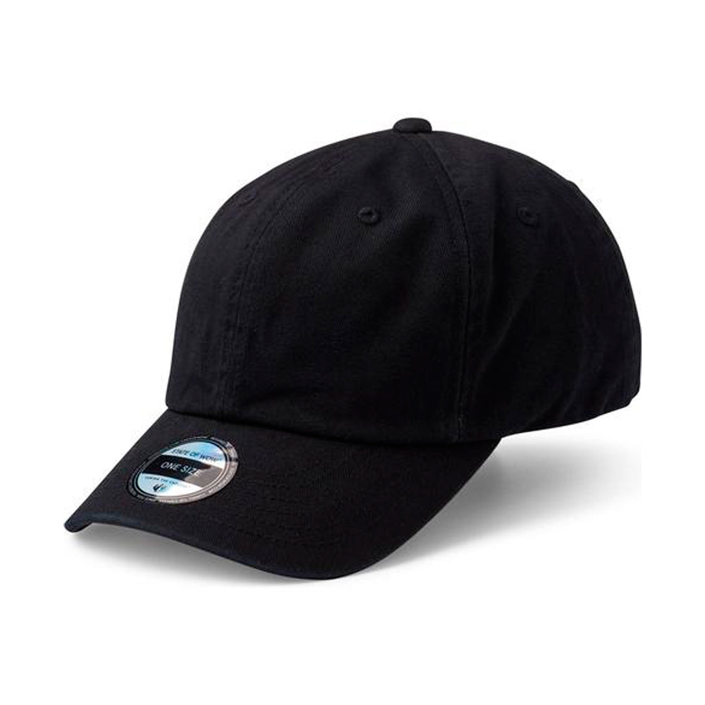 State Of Wow Cap Vincent Baseball Justerbar Sort Black