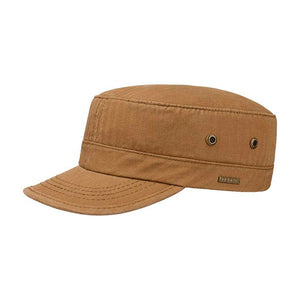 Stetson Army Cap Adjustable Justerbar Brown Brun