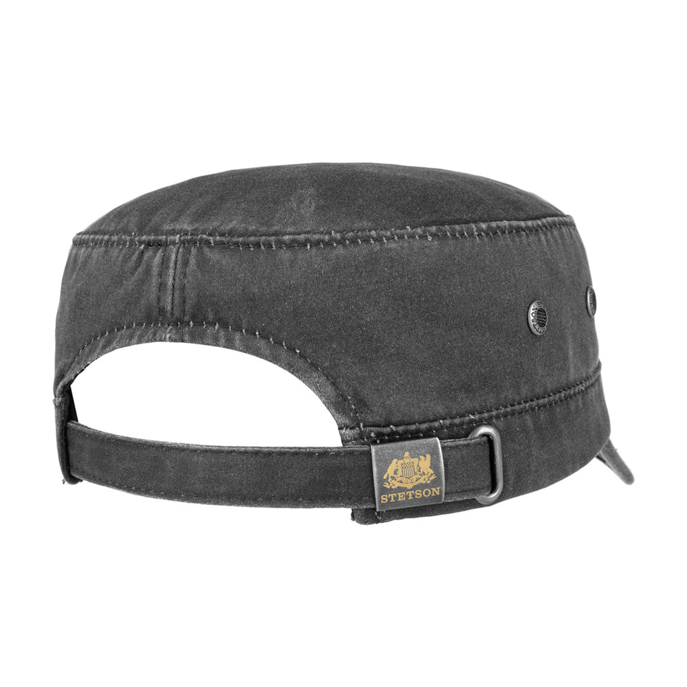 Stetson - Army Cap CO/PE - Adjustable - Black