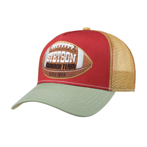 Stetson College Football Trucker Snapback Red Gold Grey Rød Guld Grå 7751178-84
