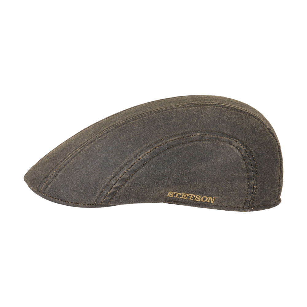 Stetson Ivy Cap COPE  Sixpence Flat Caps Black Sort