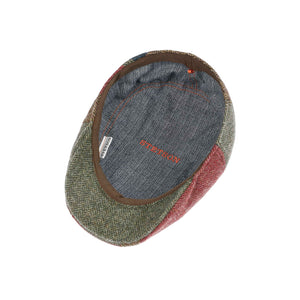 Stetson Ivy Cap Pipestone Patchwork Sixpence Flat Cap Mixed Colours 6170508-348