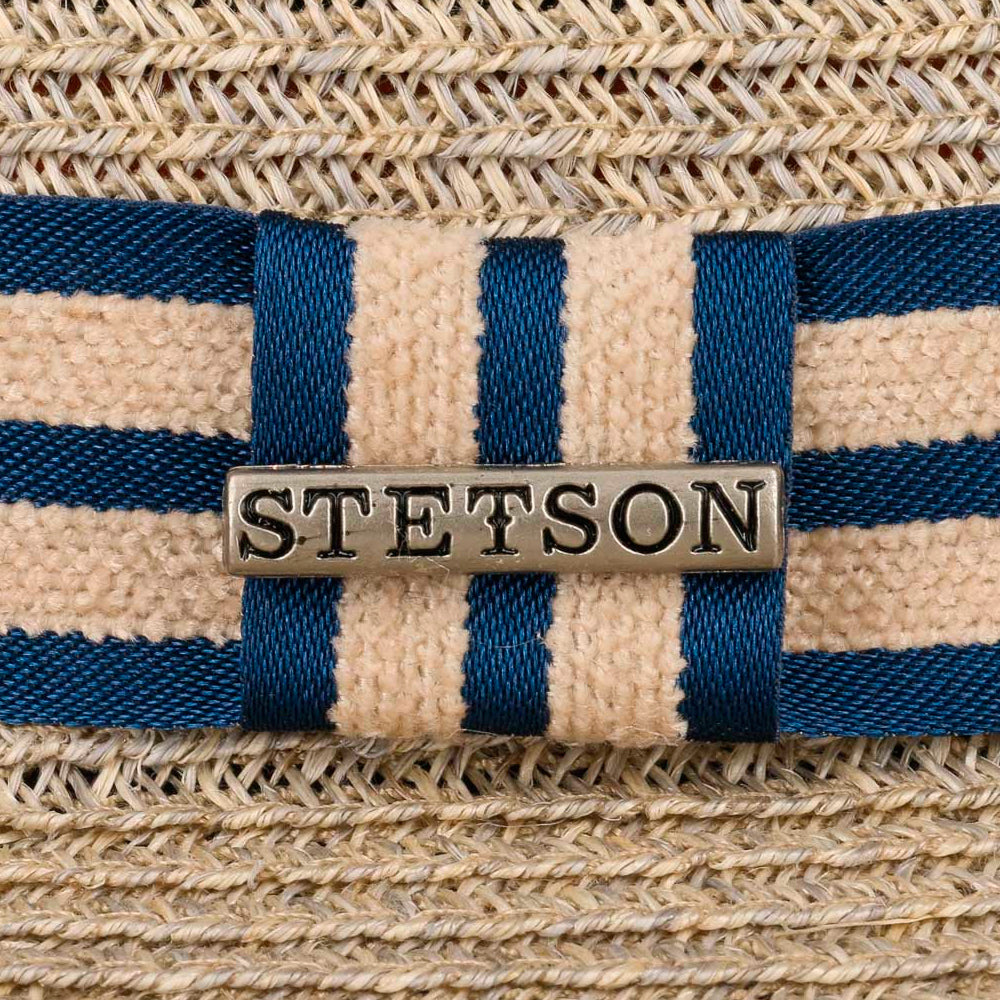 Stetson Player Hemp Straw Hat Beige Strå Hatte