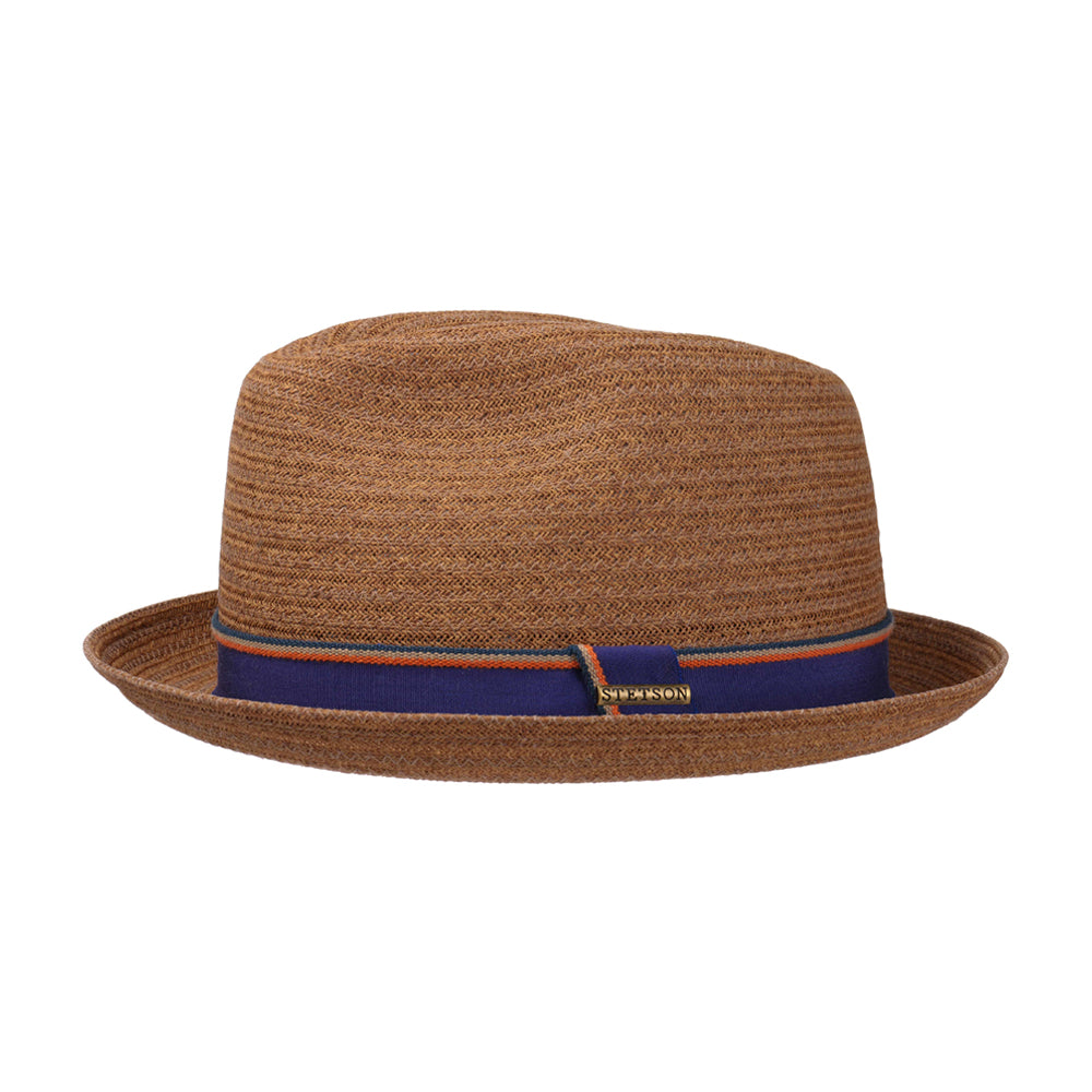 Stetson Player Toyo Straw Hat Brown Brun