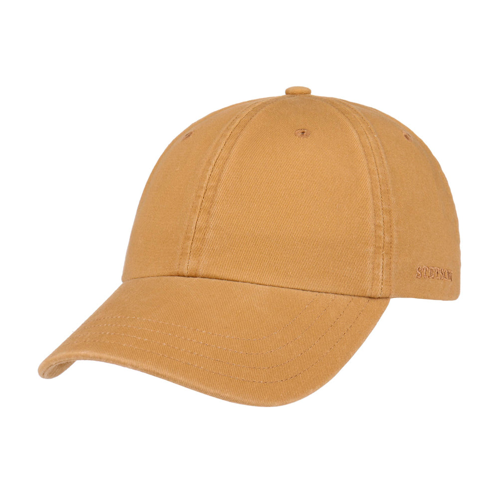 Stetson Rector Baseball Cap Adjustable Beige