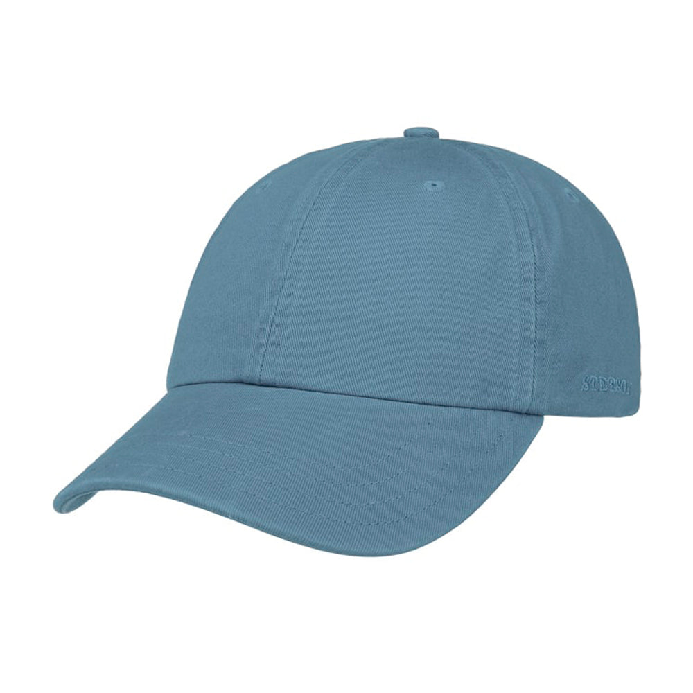 Stetson Rector Baseball Cap Adjustable Blue Blå
