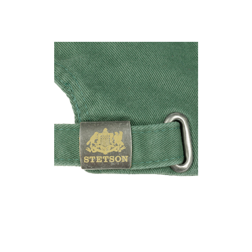 Stetson Rector Baseball Cap Adjustable Dark Green Grøn