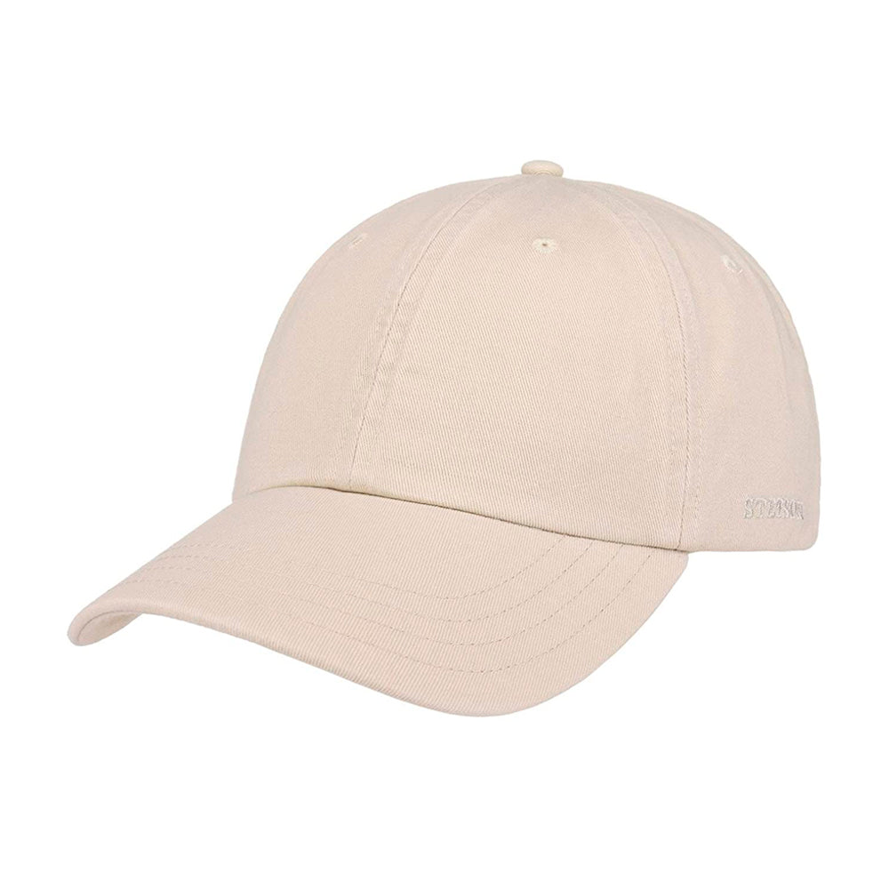 Stetson Rector Baseball Cap Adjustable Oatmeal Beige