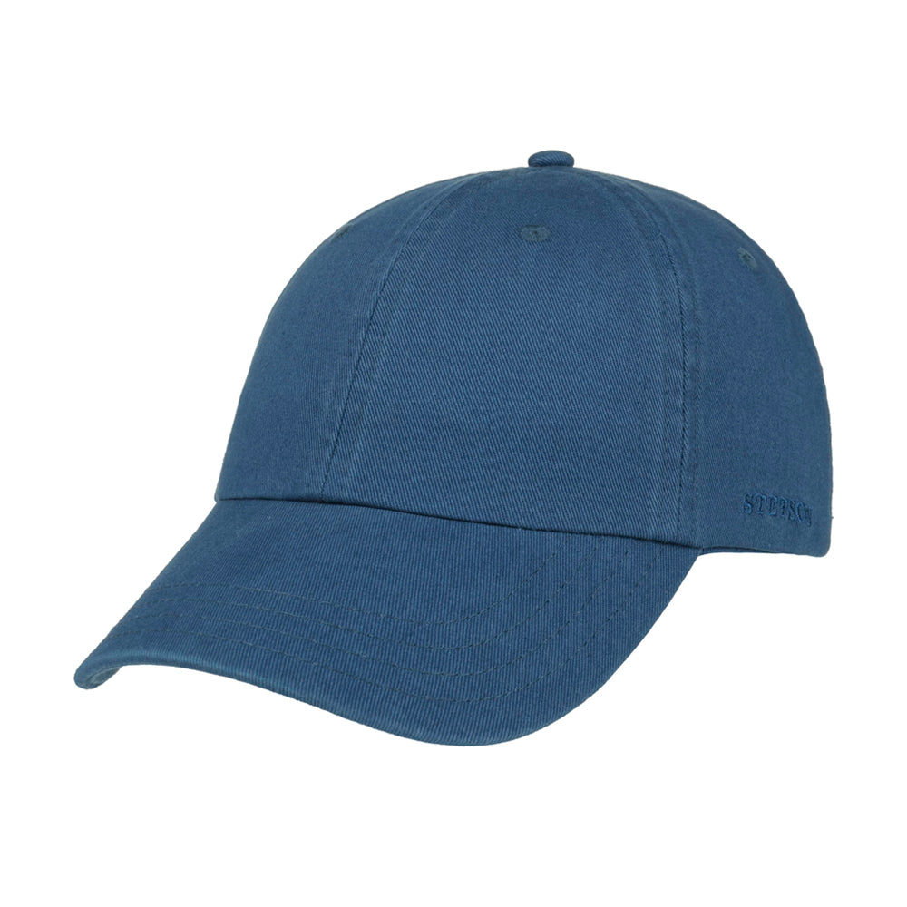 Stetson Rector Baseball Cap Adjustable Royal Blue Konge Blå 7711101-23