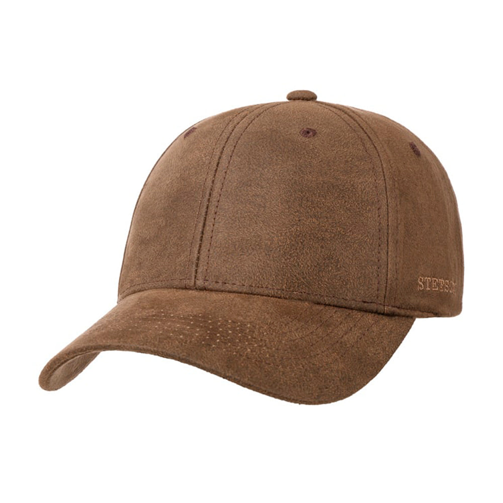 Stetson Stampton Cap Adjustable Brown Brun