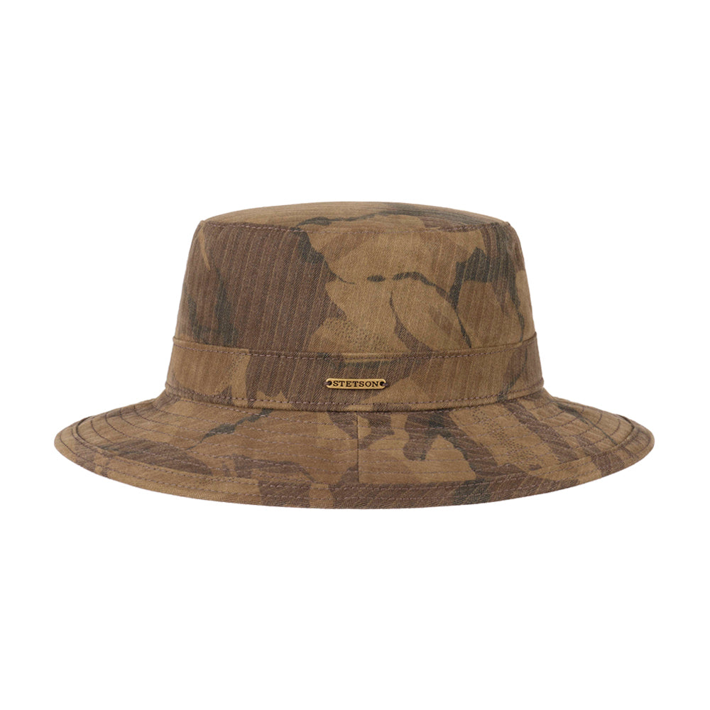Stetson Protection Cotton Twill Bucket Hat Camo Camouflage