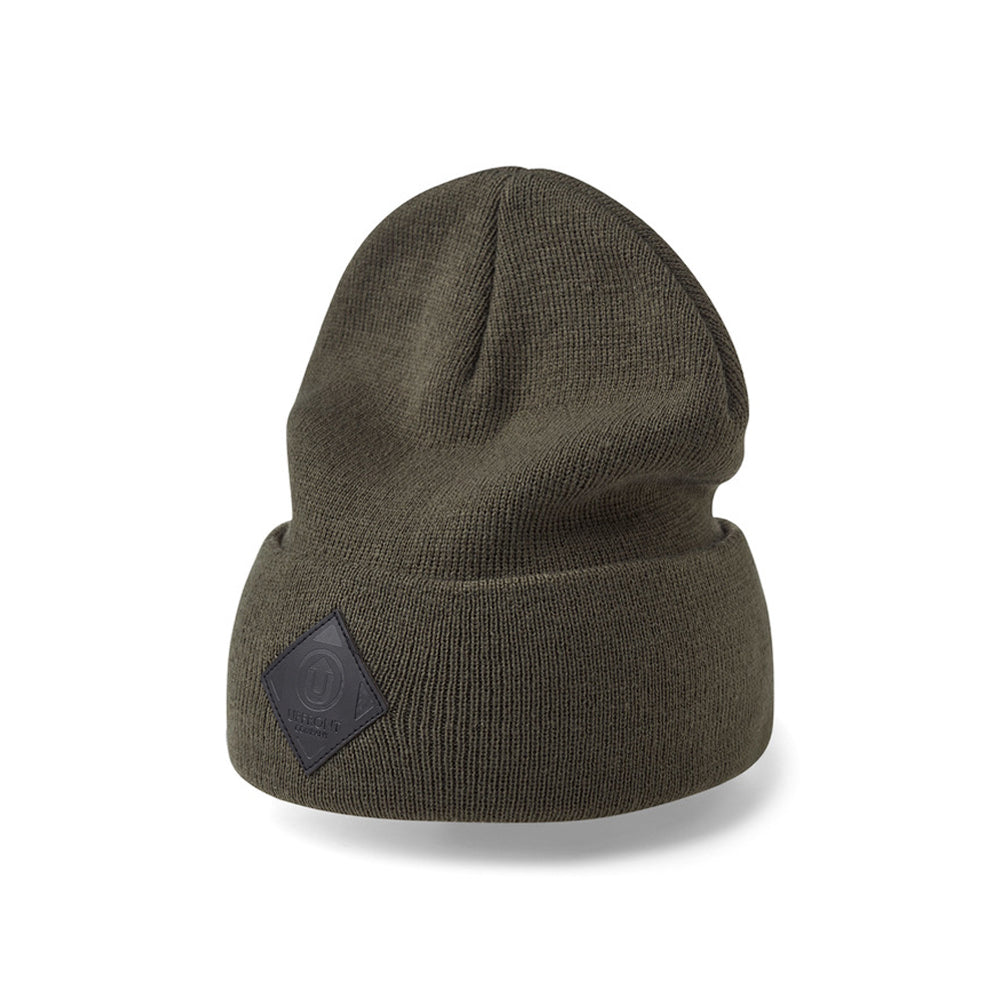 Upfront Official 2 Fold Up Fold Huer Beanie Olive Black Grøn Sort