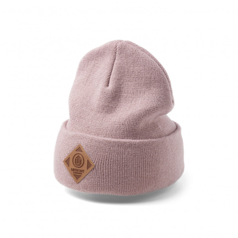 Upfront Official Uf Beanie Fold Hue Dusty Rose Lyserød