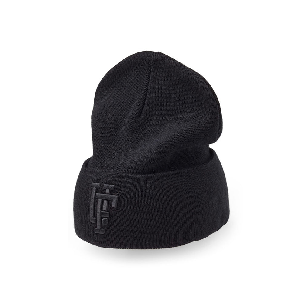 Upfront Spinback 2 Fold Up Beanie Fold Huer Black Black Sort