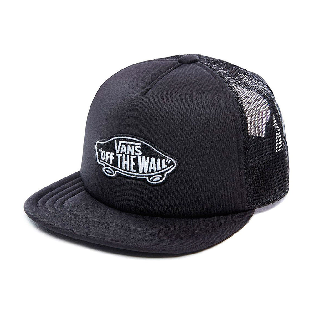 Vans Classic Patch Trucker Snapback Kids Black Sort