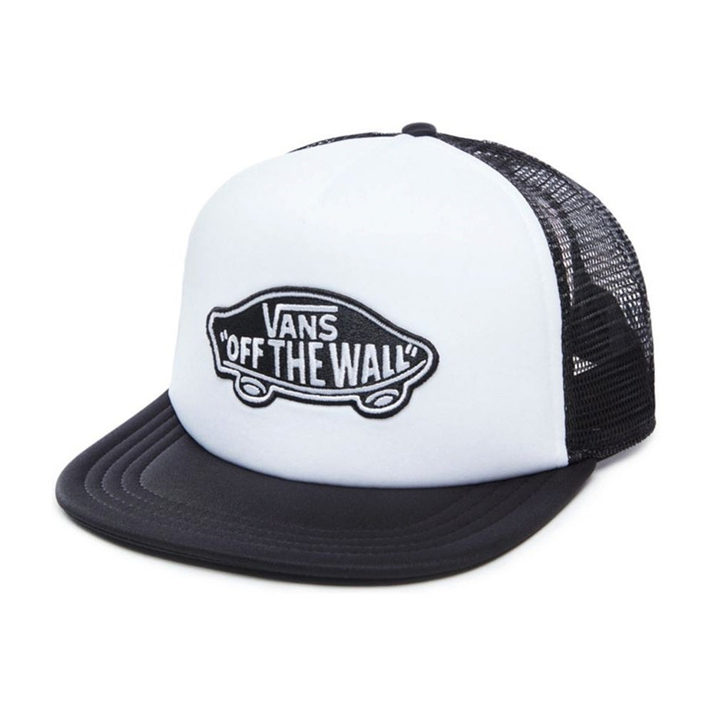 Vans cap MN Classic Patch Tru Black White Trucker sort hvid