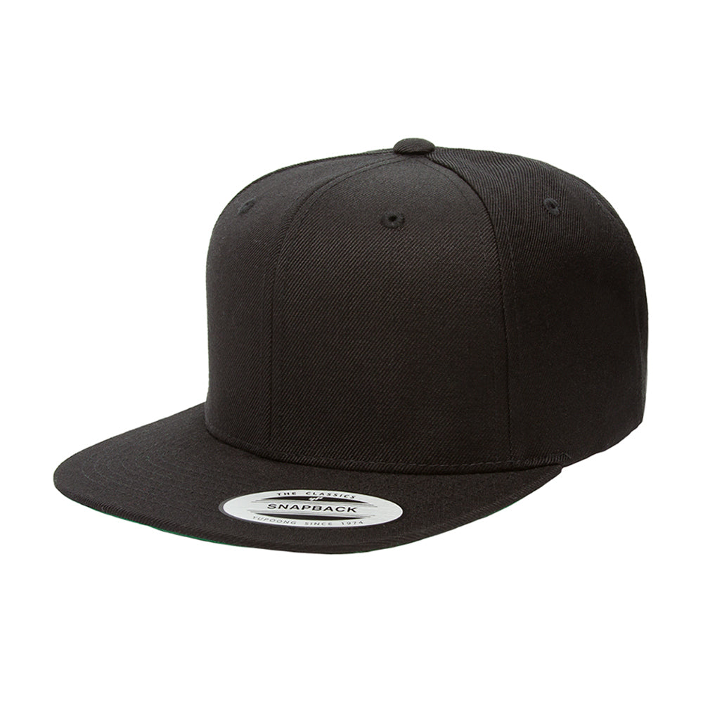 Yupoong Youth Snapback Black