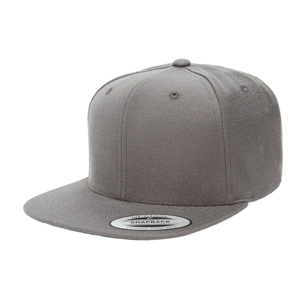 Yupoong Cap Youth Dark Grey Snapback