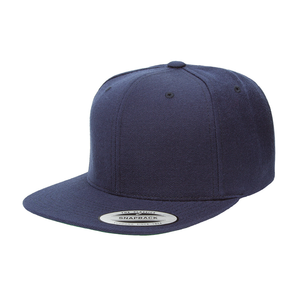 Yupoong Cap Youth Navy Snapback