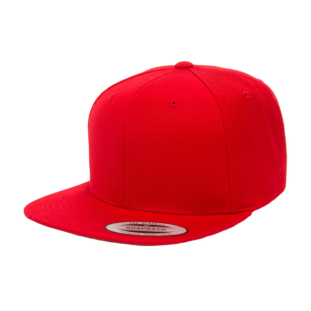 Yupoong Youth Snapback 6089YOUTH Red Rød