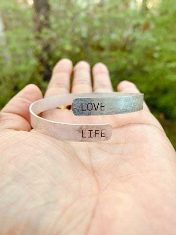 SENTIMENT BRACELET - LOVE LIFE
