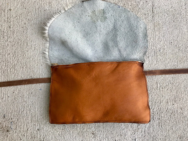 COWHIDE FANNY PACK