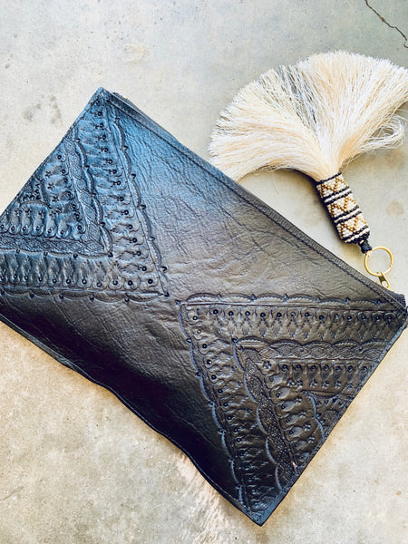 ONE-OF-A-KIND KIMMIE CLUTCH