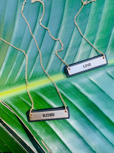 SENTIMENT NECKLACES