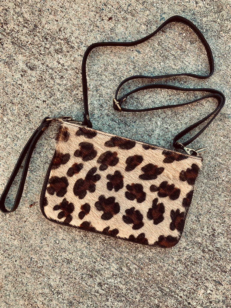 CONVERTIBLE COWHIDE BAG