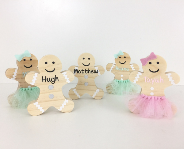 Gingerbread Boys & Girls