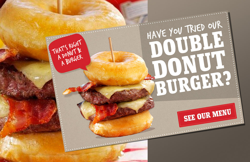 Pub chain criticised for calorific doughnut burger