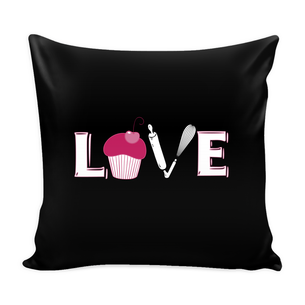 Love Baking Pillow