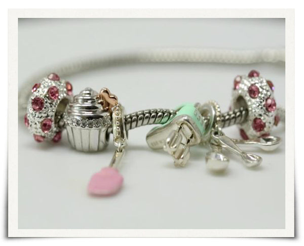 Love Is Sweet Baking Charms Bracelet (Premium) - Special Offer