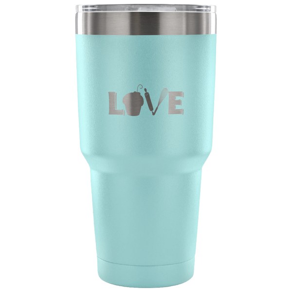 Love Baking Laser Etched Tumbler (Premium)