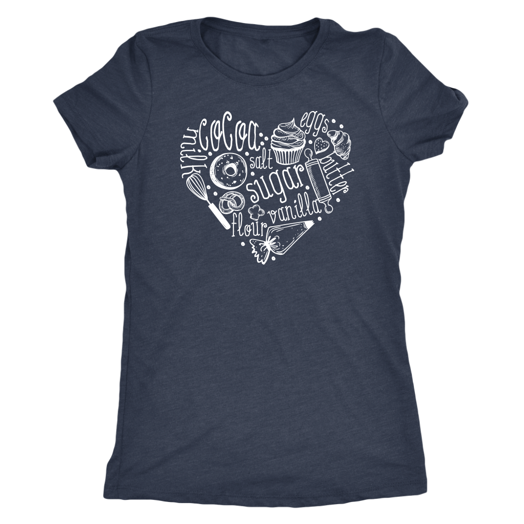 Baking Heart T-Shirt