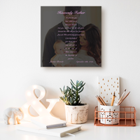 Personalized Baptism Gallery Canvas Wrap