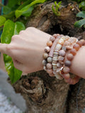 Sunstone & Shells Set Bracelet