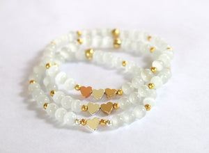 Selenite Set Bracelet 3