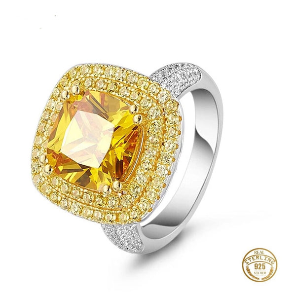 GOLDEN CITRINE RINGS