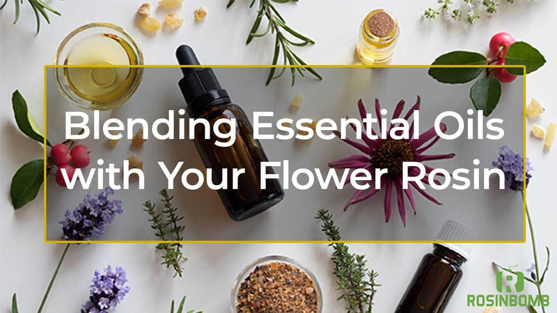 Blending Essential Oils with Your Flower Rosin