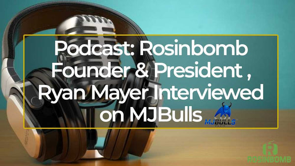 Podcast: Rosinbomb / MVRK Founder & President Ryan Mayer on MJBulls