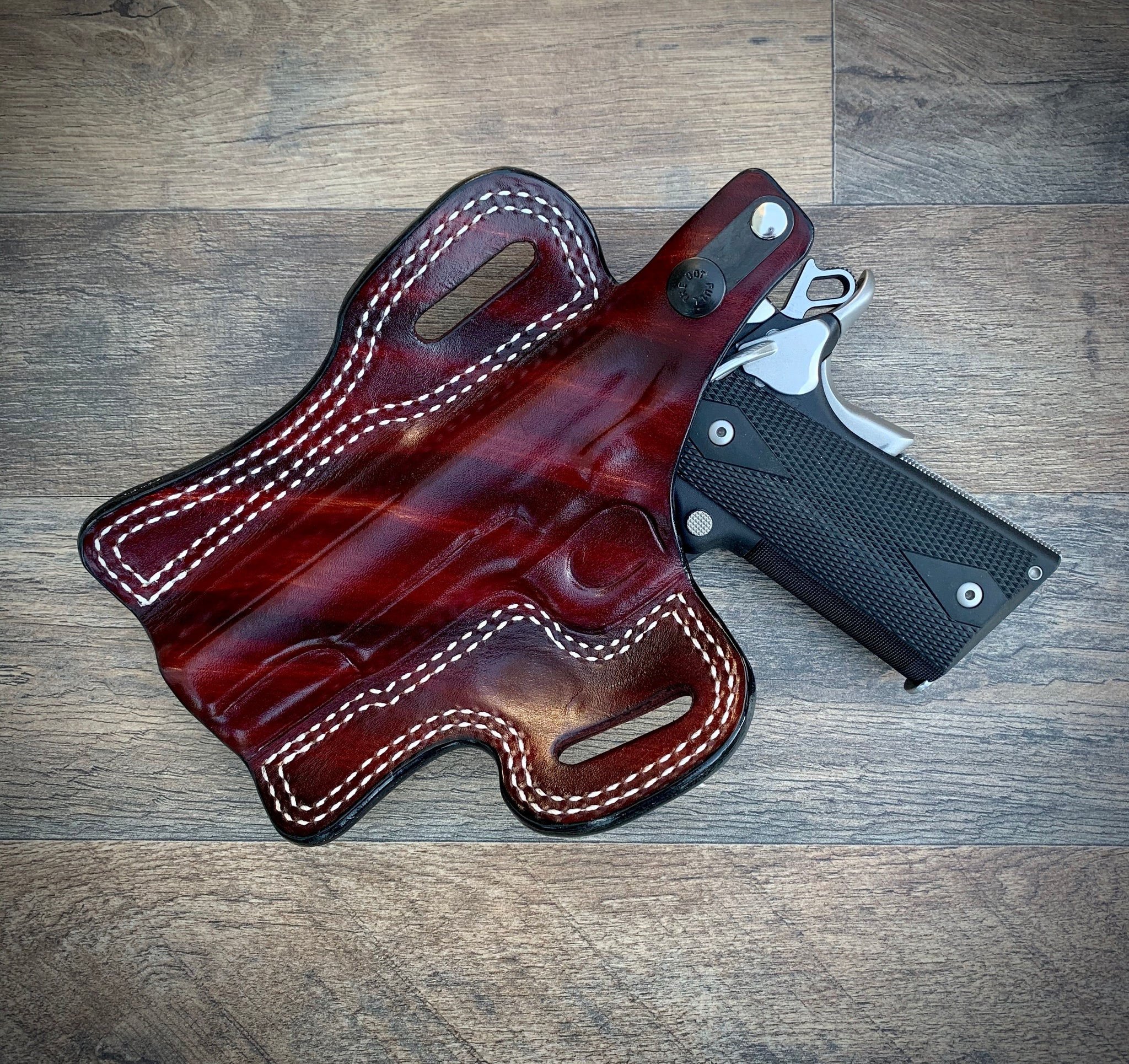 "KIMBER 5"" OWB HOLSTER With Thumb Break"