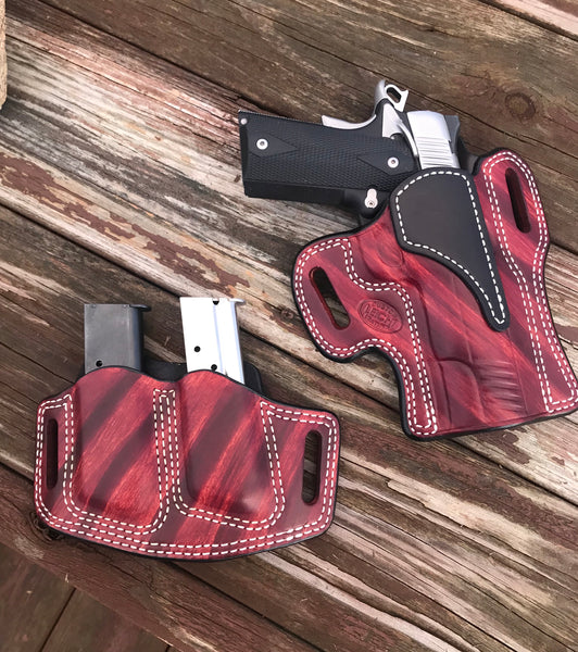 "Springfield 1911 5"" OWB HOLSTER Combo"