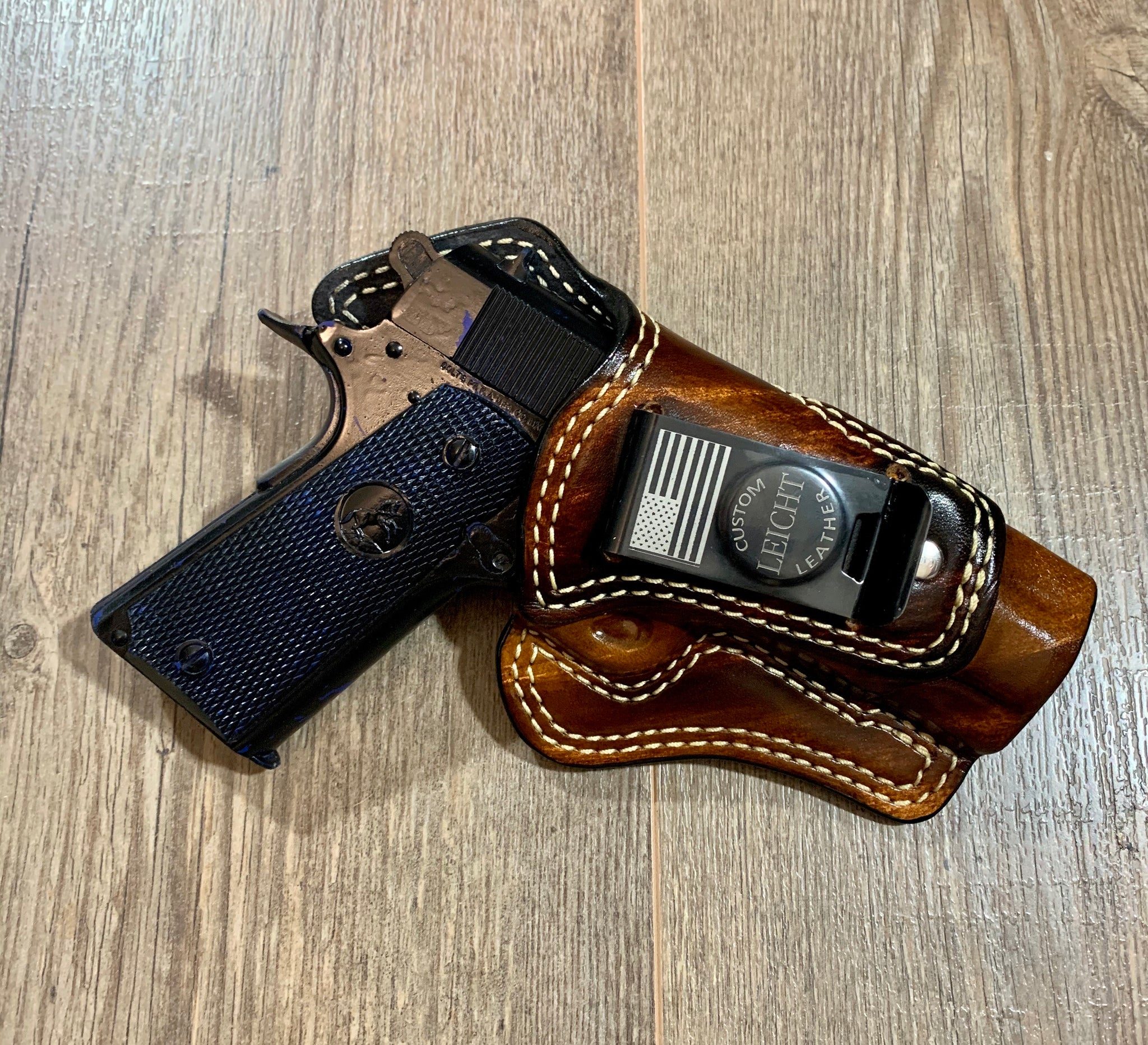 ED BROWN 1911 COMMANDER LENGTH IWB HOLSTER