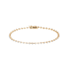 Diamond Station Tennis Bracelet
