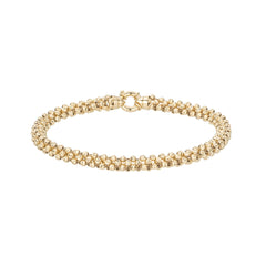 Diamond Cut Chunky Chain Bracelet
